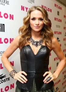 :Shantel VanSanten Attends Nylon Magazine's muziki Issue party