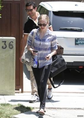 Amanda & Dominic out in LA