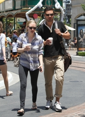 Amanda & Domonic out in LA