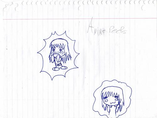 Anime peeps