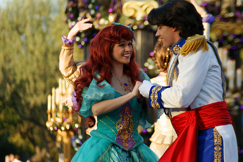 Ariel and Eric at disney World 2