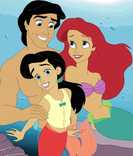 Ariel and Eric family