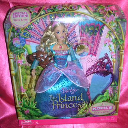 Barbie as the Island Princess Rosella doll