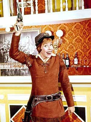 Carol Burnett wallpaper called Carol as Calamity Jane