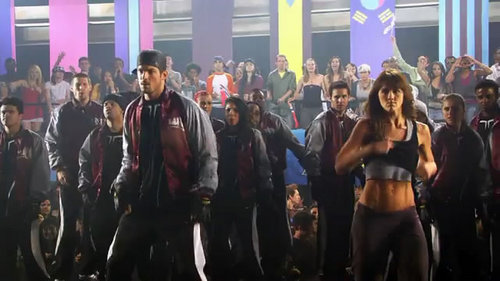 Step Up 3-D wallpaper called Dancing Scenes