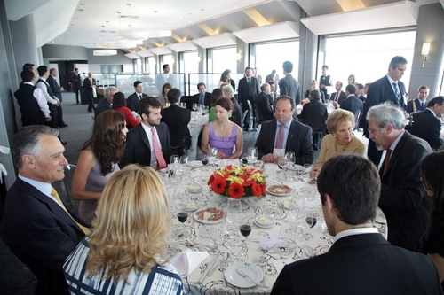Daniela @ Meeting the President of Portugal [June 9]