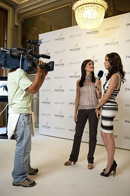 Daniela @ Presentation Campaign Pantene 'Aqua Light' [June 17]