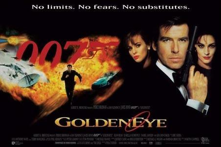 James Bond fond d'écran entitled Goldeneye Poster