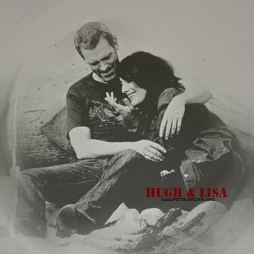Hugh & Lisa karatasi la kupamba ukuta entitled H&L*