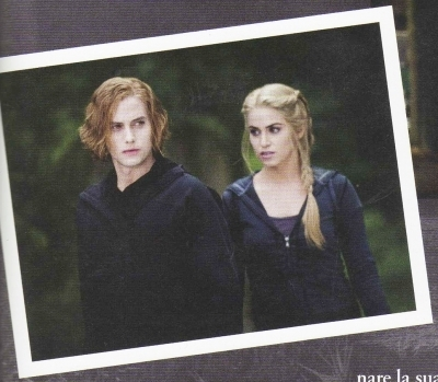 Jasper and Rosalie Pic from 'Eclipse Offical Illustrated Movie Companion'