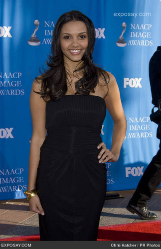 Jessica @ The 39th NAACP Image Awards - 2008