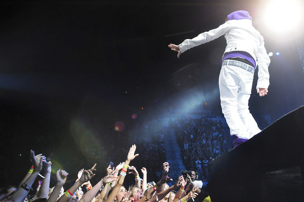 Justin Bieber My World Tour At The XL Center(June 23,2010)