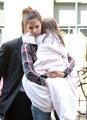 Katie Holmes cuddles her cutie