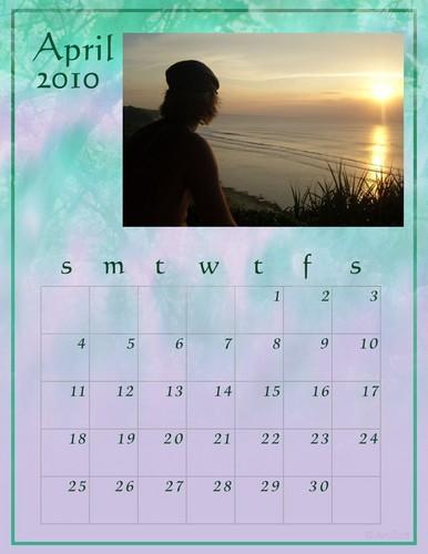 Keith Harkin 2010 Calendar