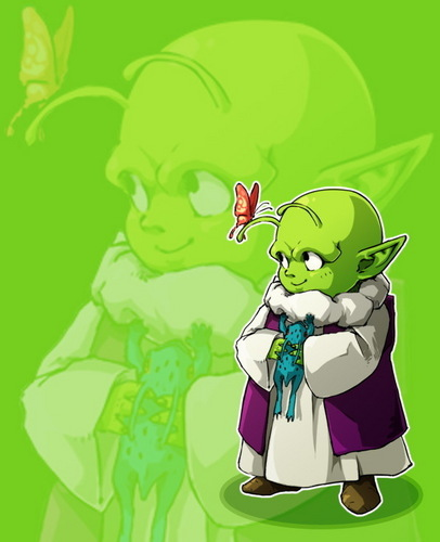 Dragon Ball Z wallpaper entitled Kid Dende
