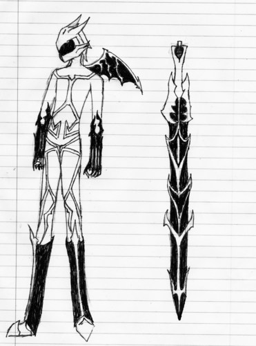 Manga wallpaper called Knight/Sword