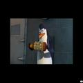 Kowalski messing with a # thing