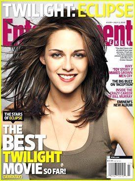 Kristen Stewart: Eclipse EW Cover!