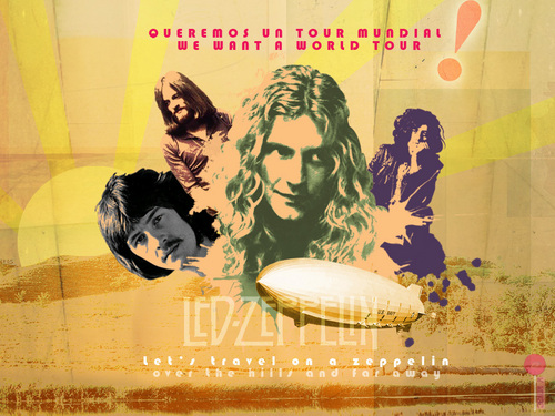 Led Zeppelin - led-zeppelin Wallpaper