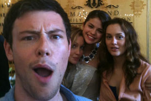 Leighton with Monte Carlo cast