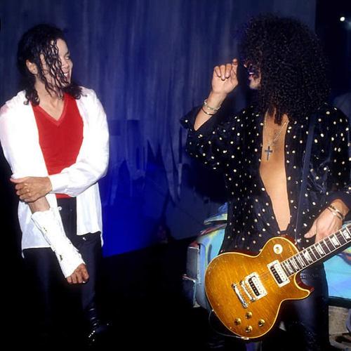 Michael and Slash