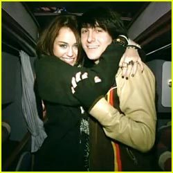 Miley with BFF Mitchel Musso