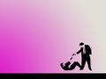 Mr. Pink & Mr. White - reservoir-dogs wallpaper