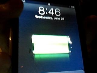 My cracked iPod!