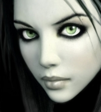 People With Green Eyes wallpaper titled Mystic Mischeif