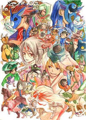 Okami Characters!
