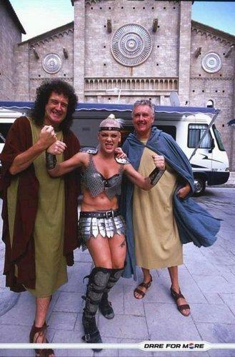 Pink,Brian May,Roger Taylor