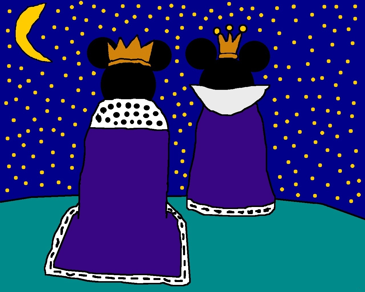 Prince mickey and princess minnie mickey donald goofy - Princesse minnie ...