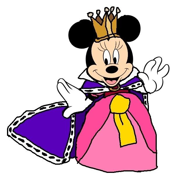 Princess minnie mickey donald goofy the three - Princesse minnie ...