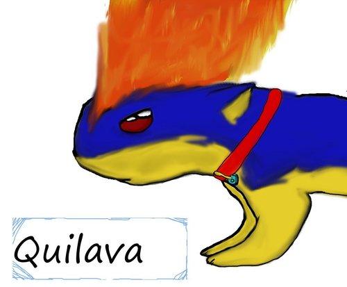Quilava made por boltlover
