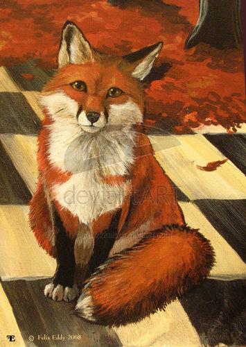 Red лиса, фокс