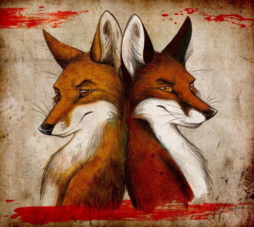 Red rubah, fox