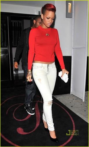 Rihanna: ужин дата with Matt Kemp!