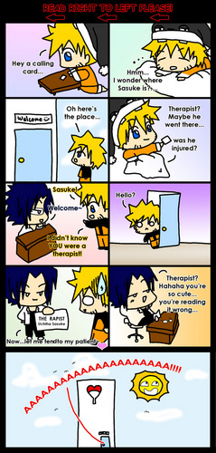 Sasunaru comics