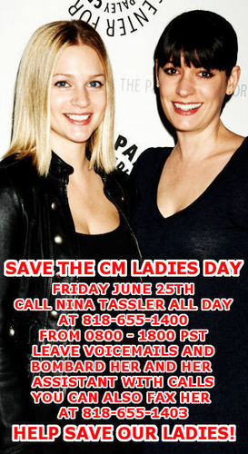 Save the CM Ladies 日 Campaign