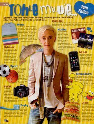 Scans & Press > Bravo Girl! - Czech (Sept. 2009)