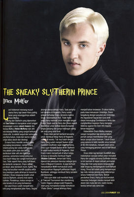 Scans & Press > First - Indonesia (July 2009)