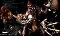 Scarecrow; Arkham Asylum.