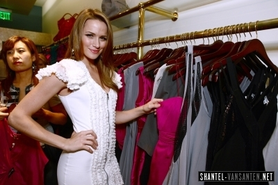 Shantel @ Foley + Corinna Melrose Avenue Event With Poshglam