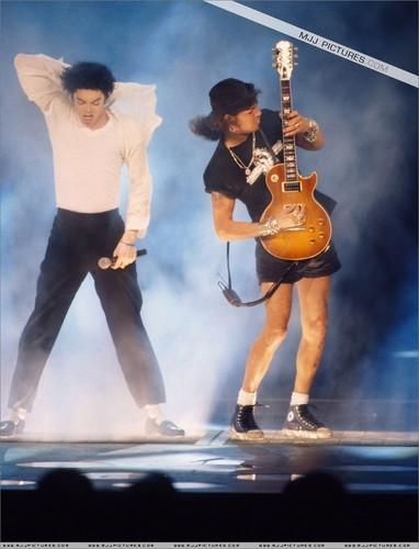 Slash & Michael Jackson