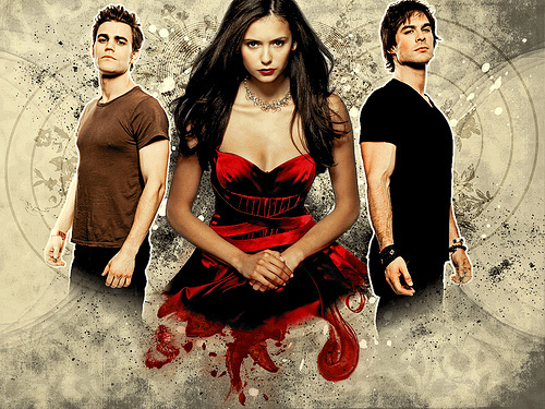 Stefan, Elena and Daomn