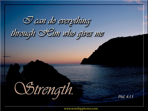 God-The creator fond d'écran called Strength