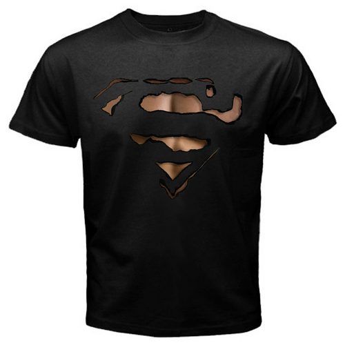 superman wallpaper titled superman Burn Out T-Shirt