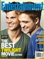 Taylor Lautner & Robert Pattinson Cover EW - twilight-series photo