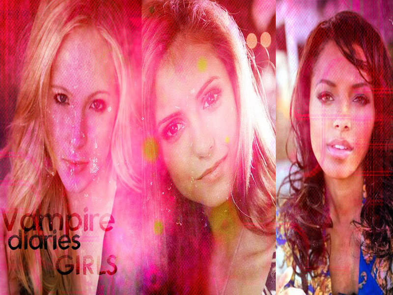 Diaries For Girls. The Vampire Diaries Girls