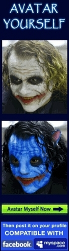 The joker as avatar